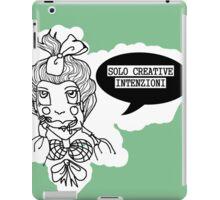 Creative intenzioni iPad Case/Skin