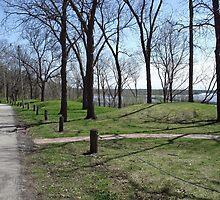 Hopewell Indian Burial Mounds by Richard Williams