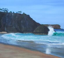 Dreamtime Beach by Elaine Green