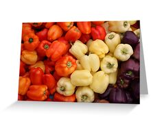 Capsicum Greeting Card