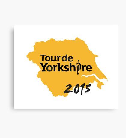 Tour de Yorkshire 2015 Canvas Print