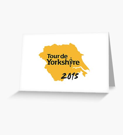 Tour de Yorkshire 2015 Greeting Card