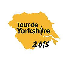 Tour de Yorkshire 2015 Photographic Print