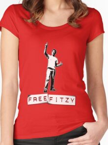 Free Fitzy Women's Fitted Scoop T-Shirt