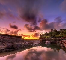 Sunrise Snapper Rock Queensland by Soren Martensen