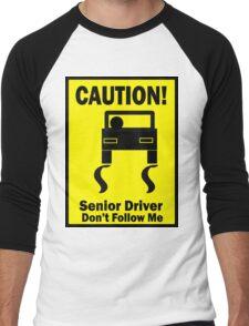 Senior Driver Men's Baseball ¾ T-Shirt