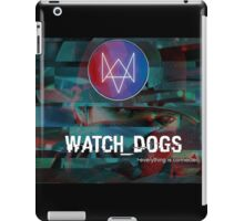Watch_Dogs everything is connected. iPad Case/Skin