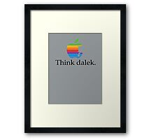 Think even more dalek Framed Print