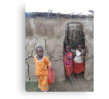 Children of the Masaii Canvas Print
