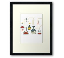YOU COULD SAY WE HAVE CHEMISTRY Framed Print