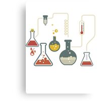 YOU COULD SAY WE HAVE CHEMISTRY Canvas Print