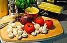 Still Life: Dinner in the Making: Lasagne by DonDavisUK