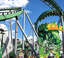 Incredible Hulk, The, Islands of Adventure by coasterfan94