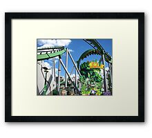Incredible Hulk, The, Islands of Adventure Framed Print