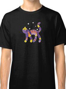 Indigo Cat Classic T-Shirt