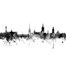 Stockholm Sweden Skyline Photographic Print
