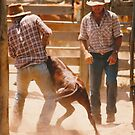 Cowboys At Work  Vicki Ferrari by Vicki Ferrari