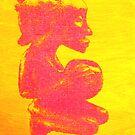 Pop Art Fetish Figure III by kate conway