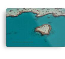 Heart Reef © Vicki Ferrari Metal Print