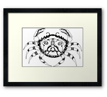 Cancer the Crab Framed Print