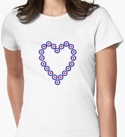 Over Love Womens Fitted T-Shirt