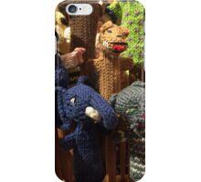 Chelsea market finger puppets iPhone Case/Skin