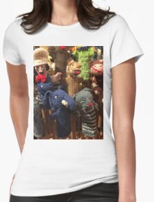 Chelsea market finger puppets Womens Fitted T-Shirt