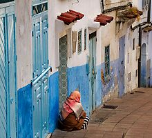 Chefchaouen, Morocco by Frank Alvaro