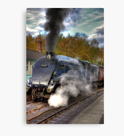No 60007  Sir Nigel Gresley Canvas Print