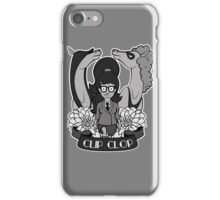 Clip Clop, Girl iPhone Case/Skin