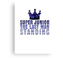 Super Junior The Last Man Standing Canvas Print