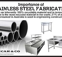 Importance of Stainless Steel Fabrication by MicahAndCo
