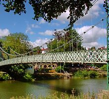 River Severn in Shrewsbury by AnnDixon