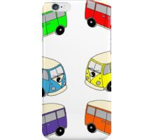 The Love Bus - Multi Colour iPhone Case/Skin