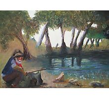 """""""Once a jolly swagman, camped by a billabong..."""" Photographic Print"""