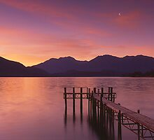 Te Anau Half Moon by Ben Messina