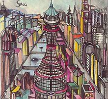 THE WATCHTOWER  Version # 1 by John Dicandia  ( JinnDoW )