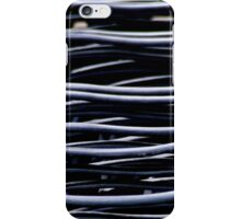 Wavy chairs iPhone Case/Skin