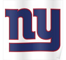 new york giants logo 1 Poster