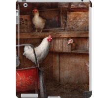 Animal - Chicken - The duck is a spy  iPad Case/Skin