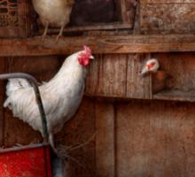 Animal - Chicken - The duck is a spy  Sticker