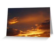 Sunset Clouscape 1 Greeting Card