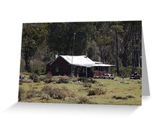 outback cabin Greeting Card