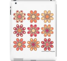 Apricot Foot Flowers iPad Case/Skin