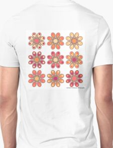 Apricot Foot Flowers T-Shirt