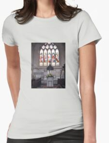 BATH CATHEDRAL WINDOW Womens Fitted T-Shirt