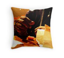Consume Throw Pillow