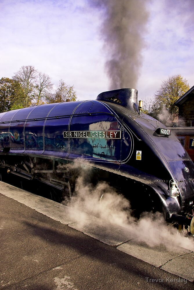 Sir Nigel Gresley by Trevor Kersley