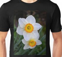 Two Tiny Daffodils Unisex T-Shirt