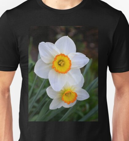 Two Tiny Daffodils Unisex T-Shirt